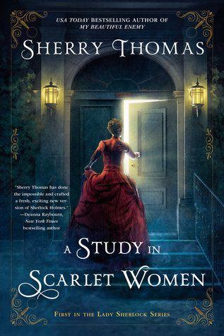 Um estudo na capa da Mulher Escarlate