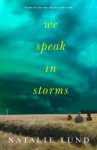 We Speak in Storms book cover