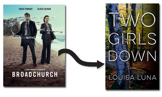 Broadchurch poster Two Girls Down cover image