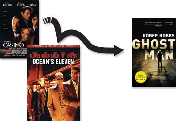 Casino and Ocean's Eleven posters Ghostman cover image