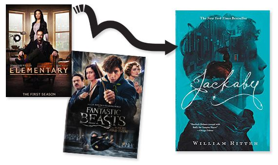Elementary and Fantastic Beasts posters Jackaby cover image