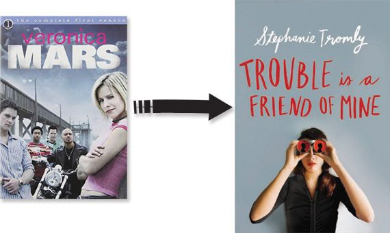 Veronica Mars poster Trouble Is A Friend Of Mine cover image