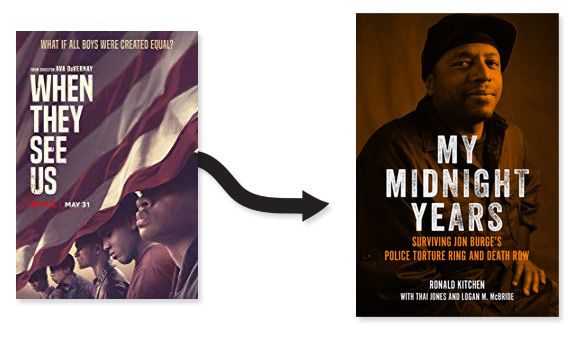 When They See Us poster My Midnight Years cover image