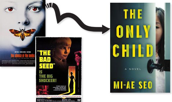 silence of the lambs the bad seed posters The Only Child cover image