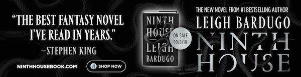 Ninth House book ad