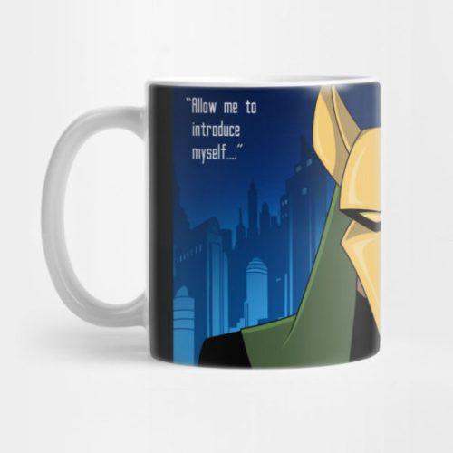 comic book villain mugs