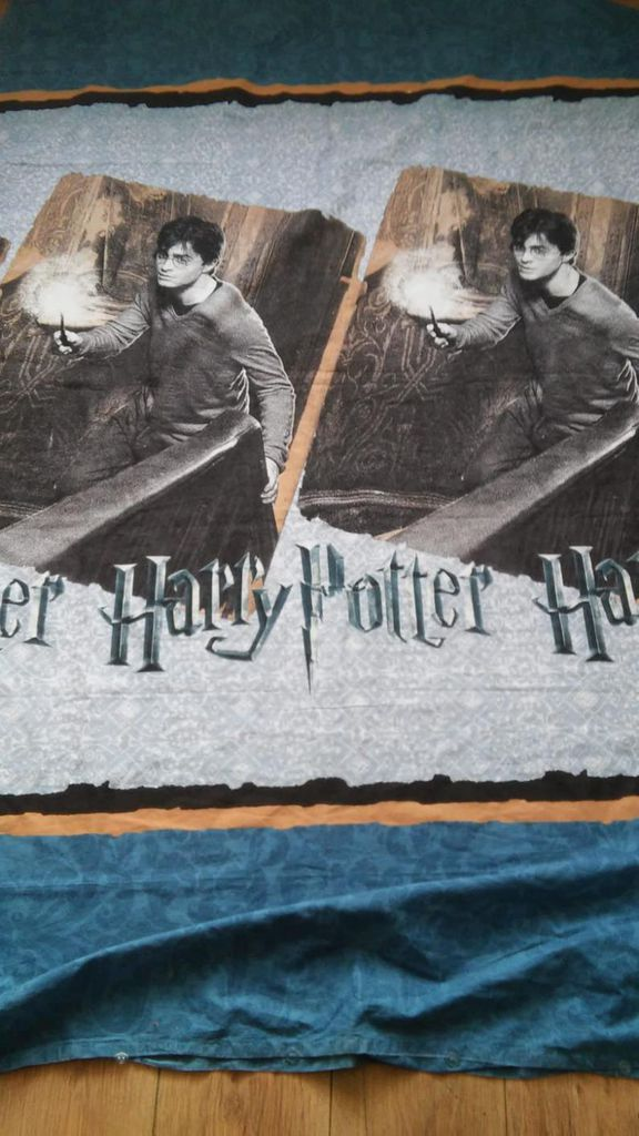 Vintage 2000 Harry Potter Duvet Cover