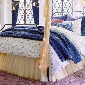Enchanted Night Sky Harry Potter Duvet Cover