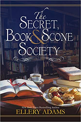 cover of secret book and scone society by Ellery Adams