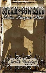 Cover of the anthology Steam-Powered