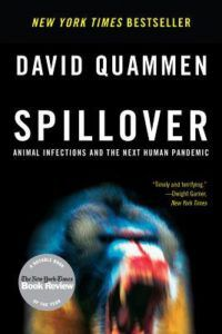 books about pandemics, spillover book cover