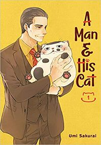A Man & His Cat volume 1 cover - Umi Sakurai
