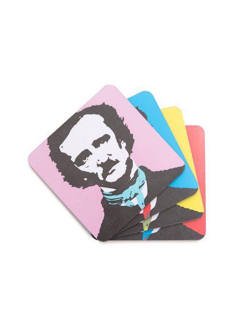 Edgar Allan Poe coasters
