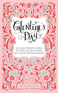 cover of Galentine's Day Hand-Drawn Cards by Eva Marie Taylor
