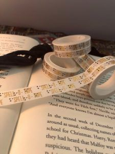 'spell-o-tape' washi tape