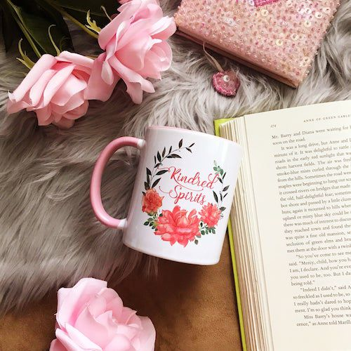 Kindred Spirits mug from Anne of Green Gables by MirkwoodScribes