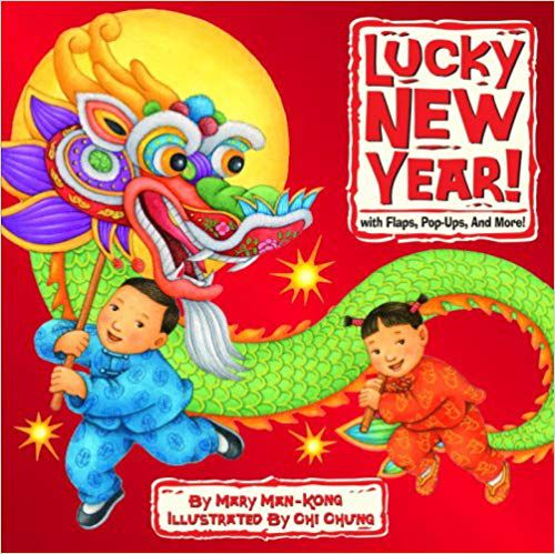 Lunar New Year children's books: Lucky New Year with Flaps Pop-Ups and More book cover