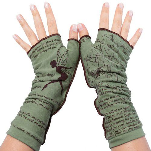 Peter Pan Writing Gloves by storiarts