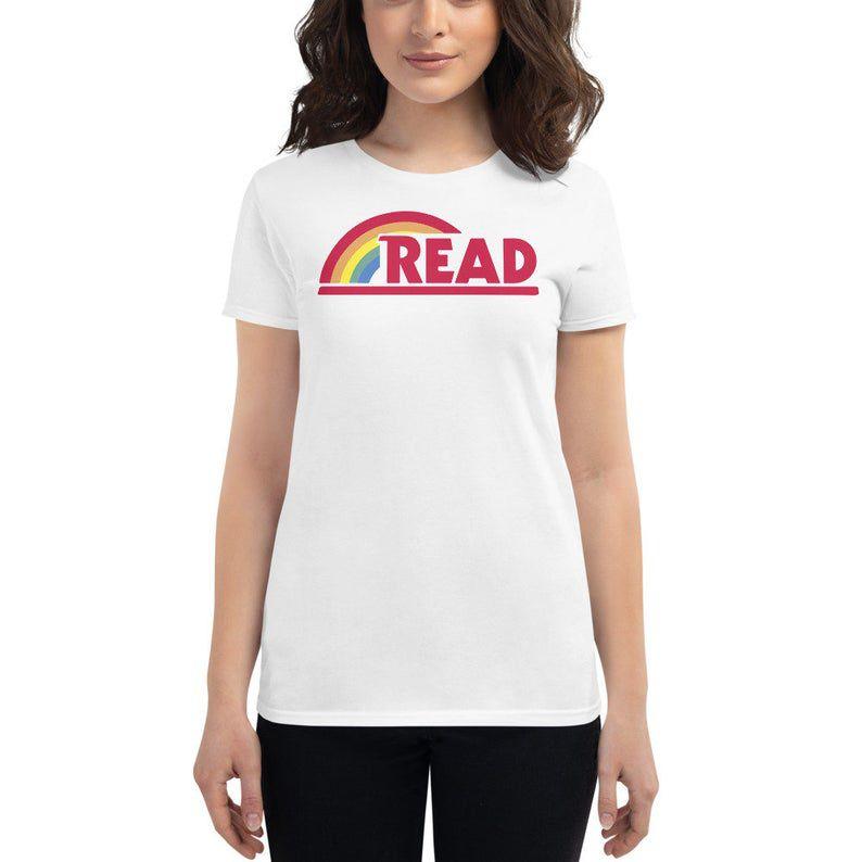 Read Reading Rainbow womens' shirt