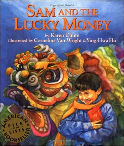 Lunar New Year children's books: Sam and the Lucky Money book cover