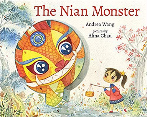 Lunar New Year children's books: The Nian Monster book cover