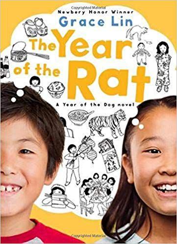 Lunar New Year children's books: The Year of the Rat (A Pacy Lin Novel) book cover