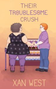 Their Troublesome Crush by Xan West book cover