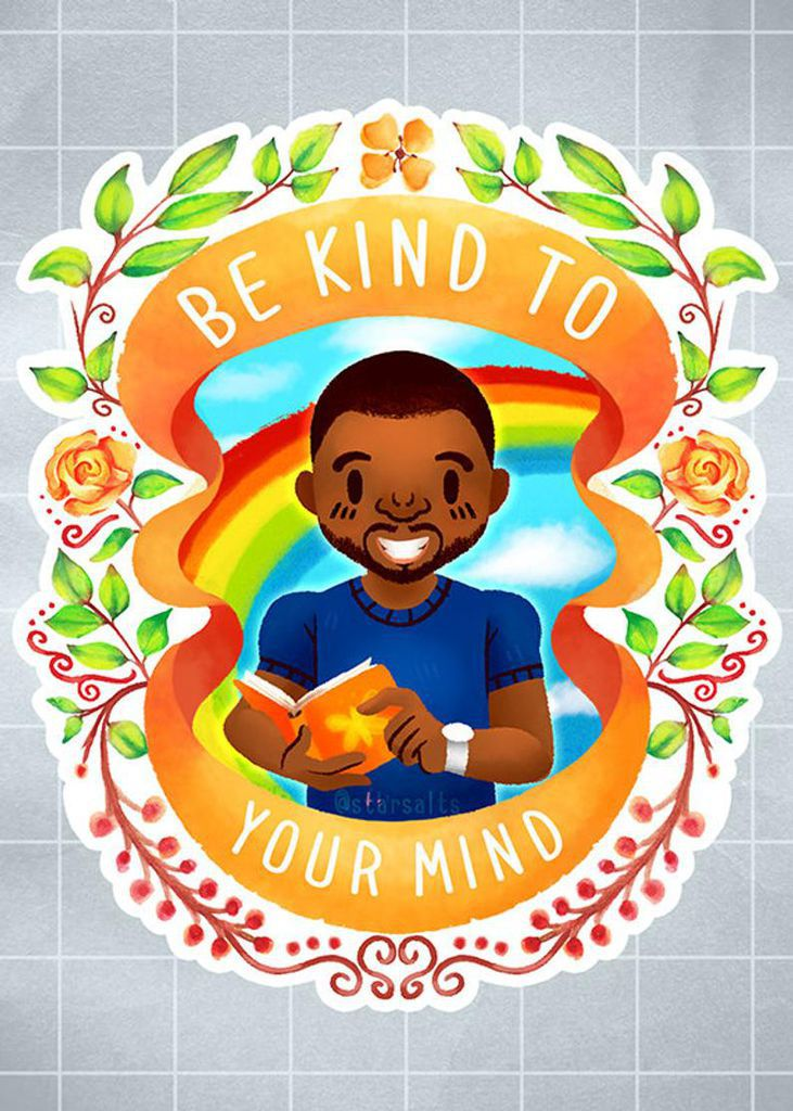 Be kind to your mind miniprint