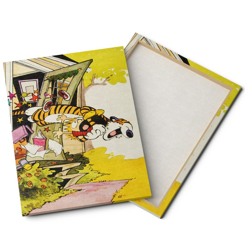 20 Calvin and Hobbes Art Pieces for Your Home, Office, or ...