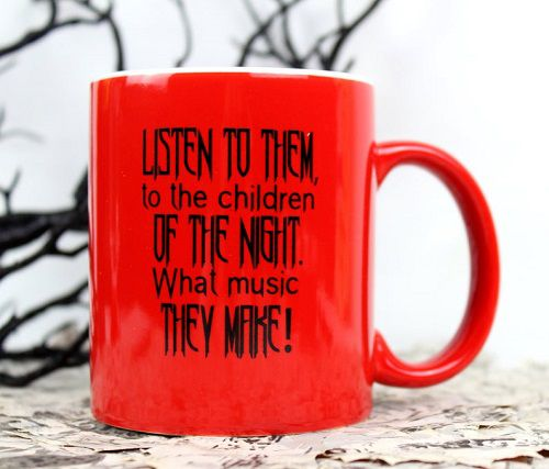 children of the night quote literary mug dracula themed gifts