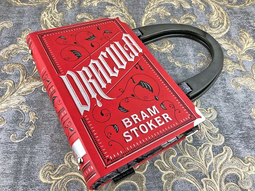 book purse dracula themed gifts