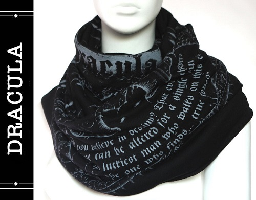 quote infinity scarf dracula themed gifts