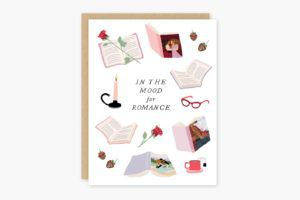 In the Mood for Romance Books Card