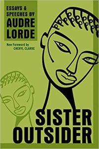 Sister Outsider by Audre Lorde - cover