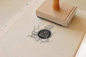 Squid Library Stamp