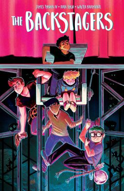 The Backstagers Vol. 1 by James Tynion IV and Rian Sygh cover