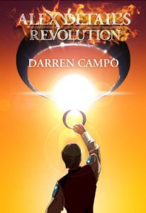 book cover for alex detail's revolution by darren campo books about child prodigies