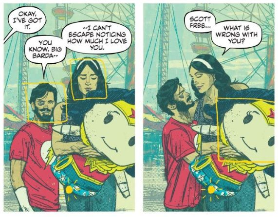 page from Mister Miracle