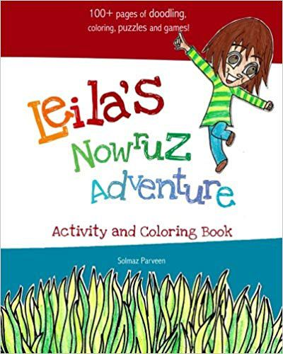 Leila's Nowruz Adventure- Activity and Coloring Book book cover