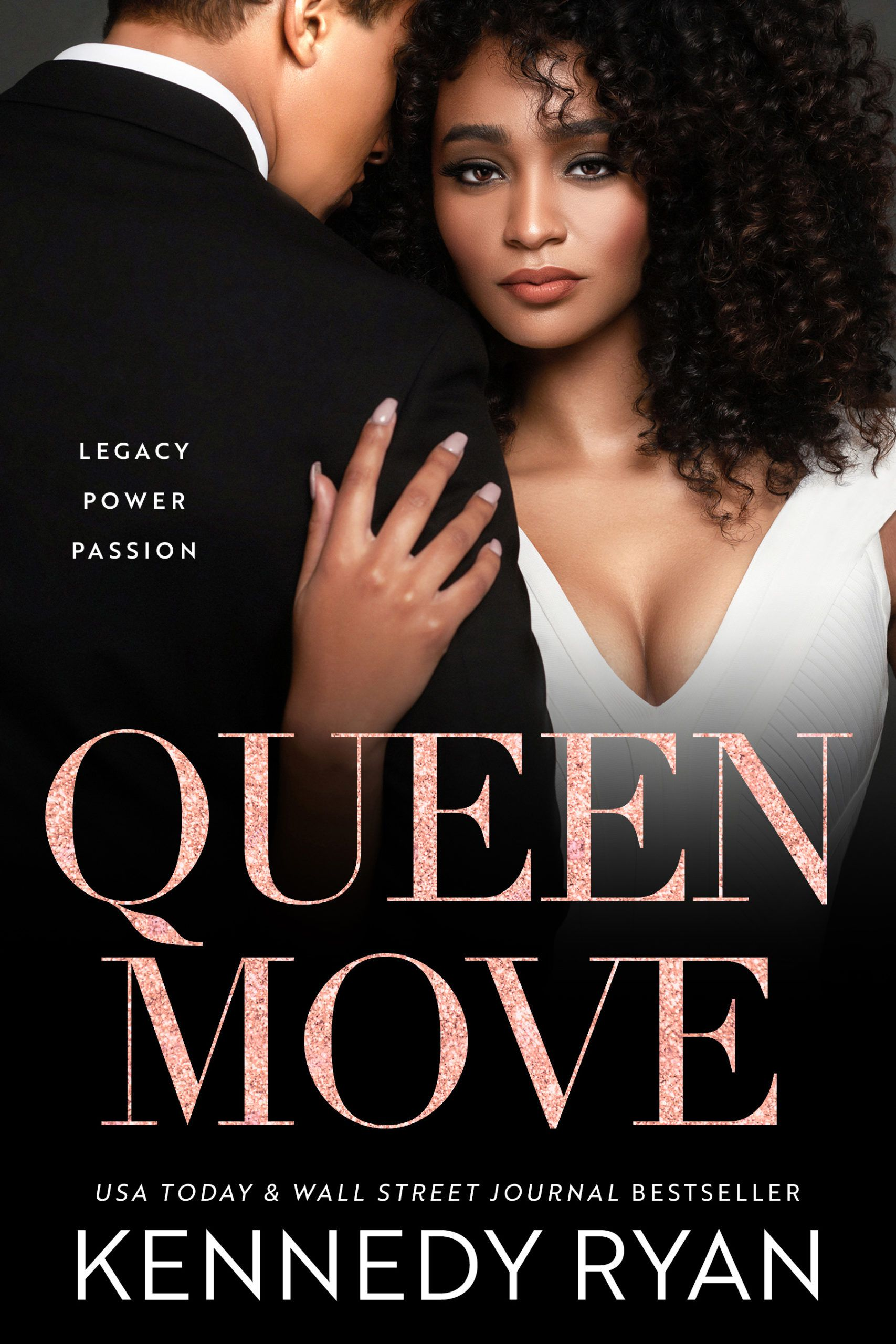 Cover of Queen Move about a political consultant working for social change