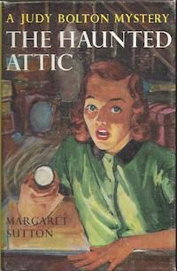 cover of The Haunted Attic by Margaret Sutton Judy Bolton series