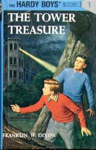 cover of The Tower Treasure Hardy Boys book by Franklin W. Dixon