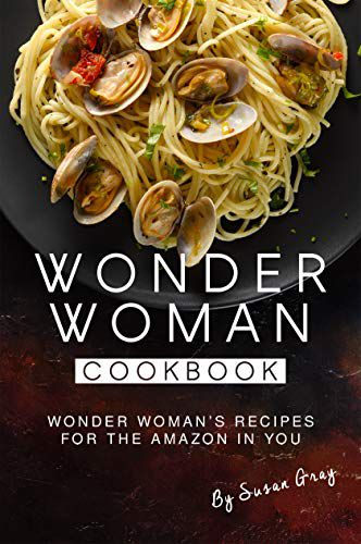 Wonder Woman Cookbook cover