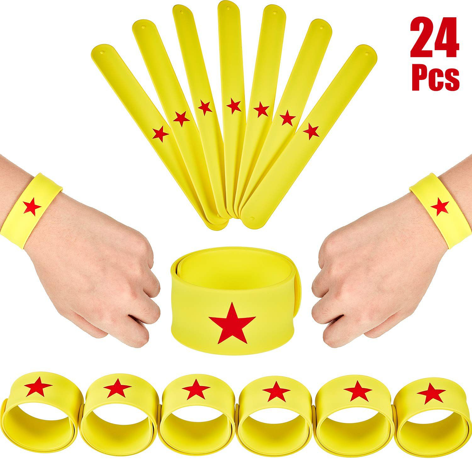 Wonder Woman slap bracelets
