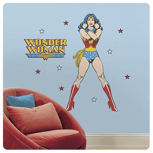 Wonder Woman wall decal