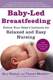 Baby-led Breastfeeding book cover