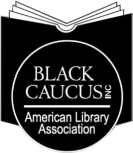 The logo of the Black Caucus of the American Library Association