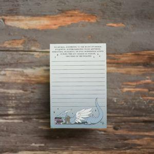 Book Dragon Notepad