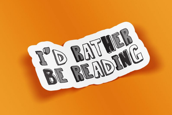 Rather Be Reading from Etsy Finds for Bookish Introverts | bookriot.com