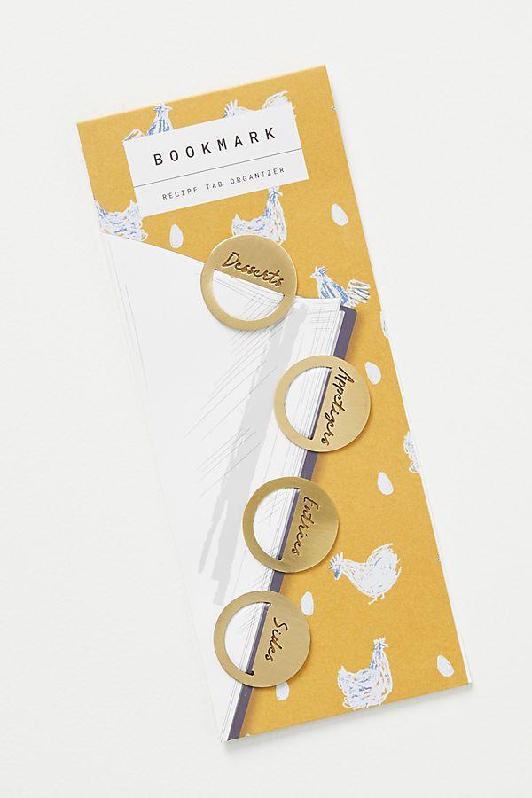 Cookbook bookmarks
